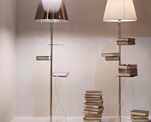 lampadaires-Flos Bibliothèque Nationale