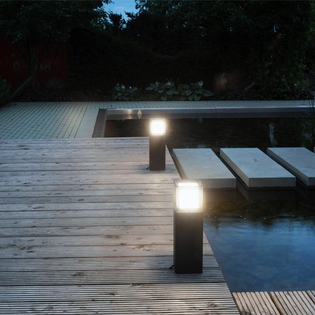 luminaire exterieur bega