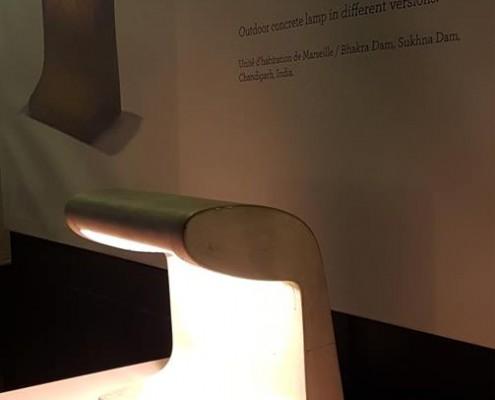 lampes-a-poser-Nemo Borne Béton Petite