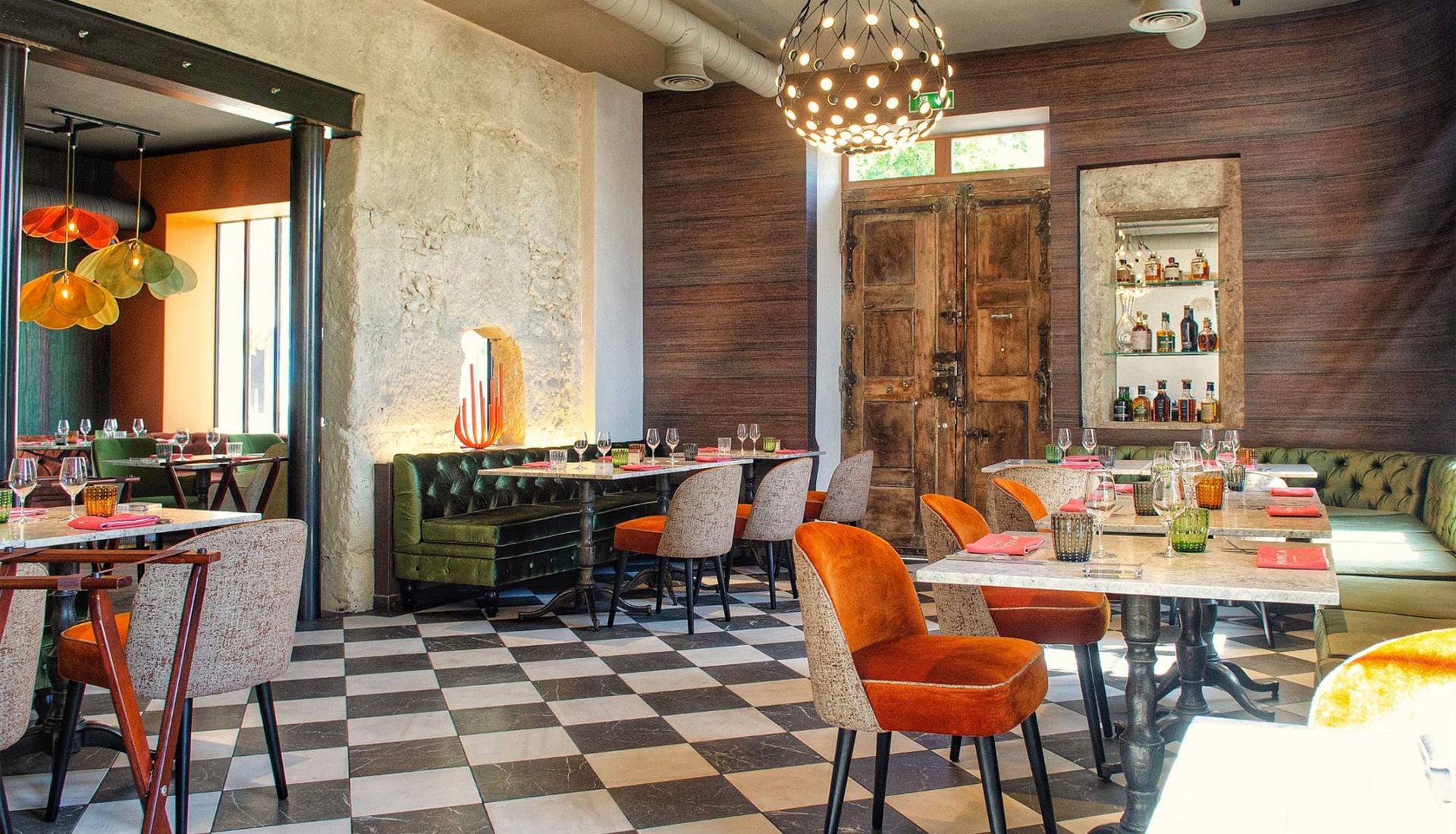 Pica pica restaurant - Béziers - Portal eclairage