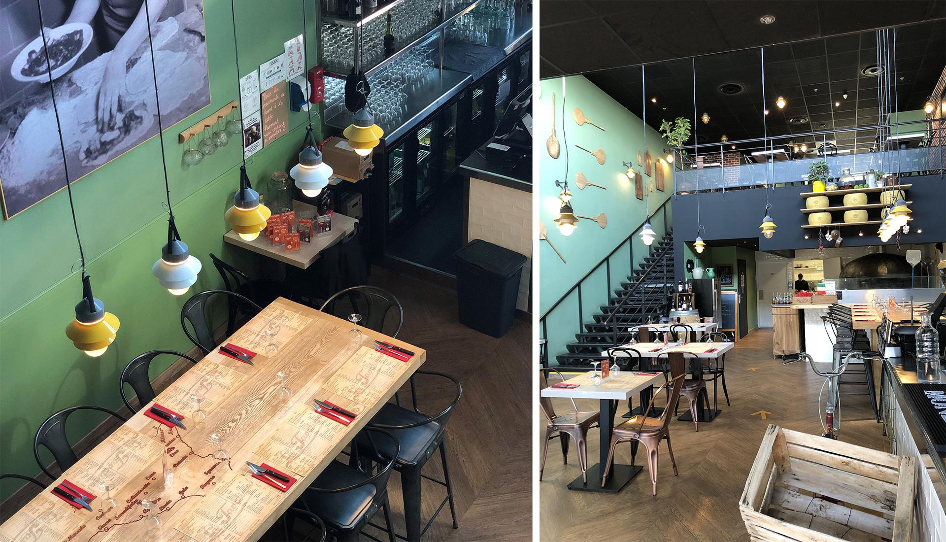 Restaurant la tavolina - Béziers - Portal Eclairage