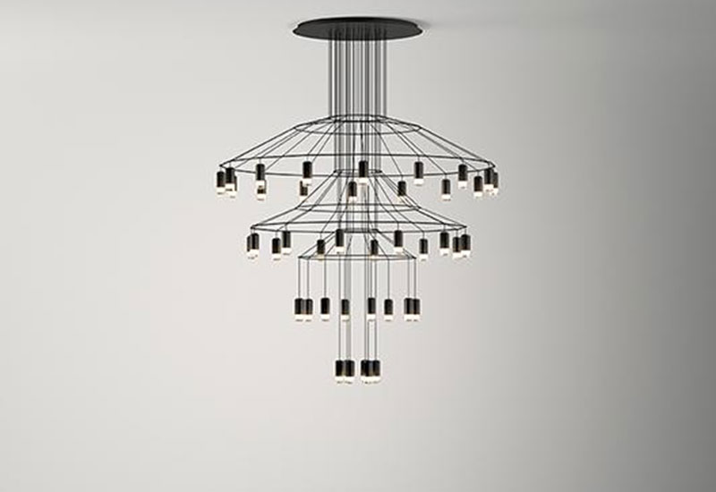 suspension_vibia_wireflow_chandelier